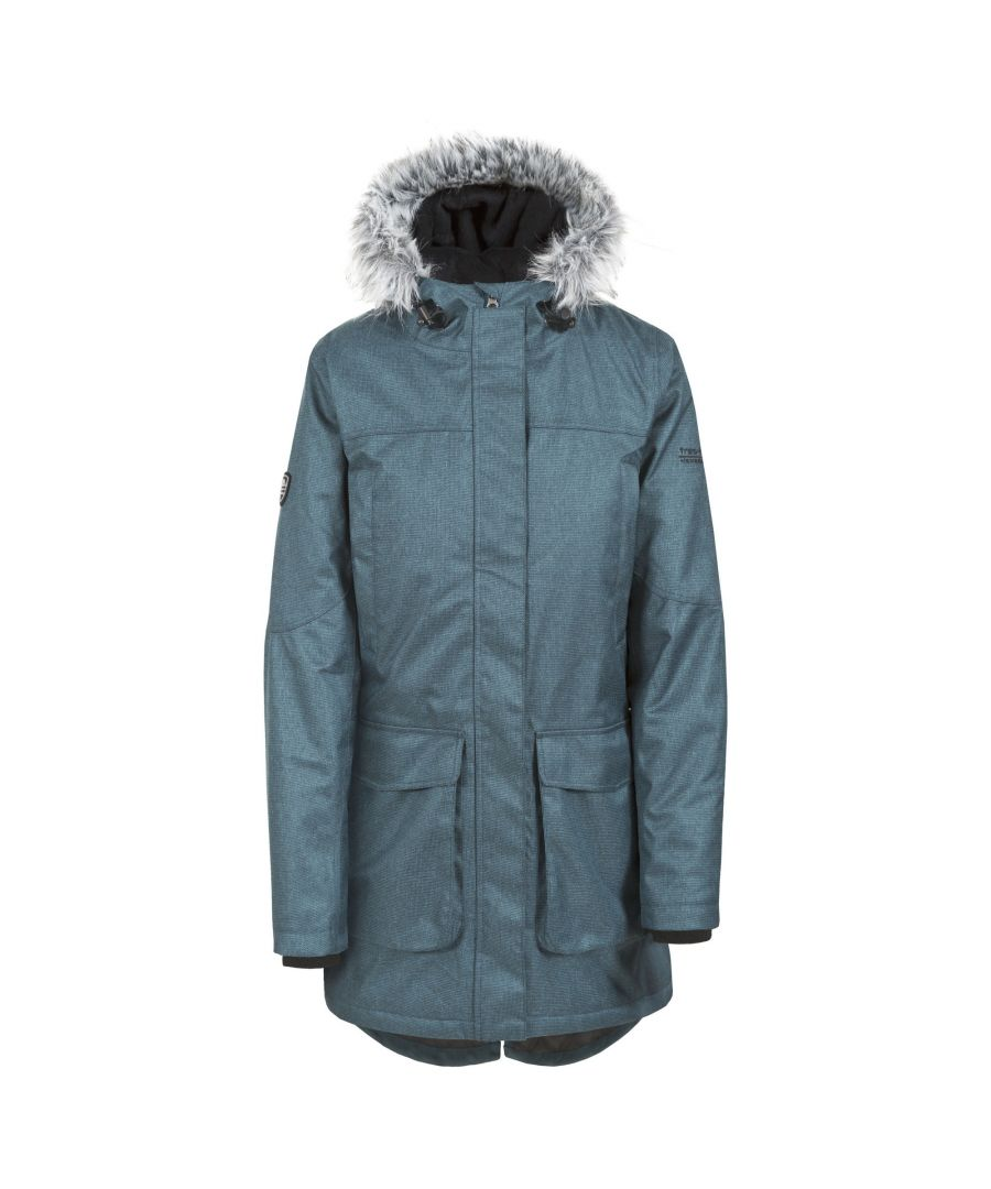 Image for Trespass Womens/Ladies Thundery Waterproof Jacket