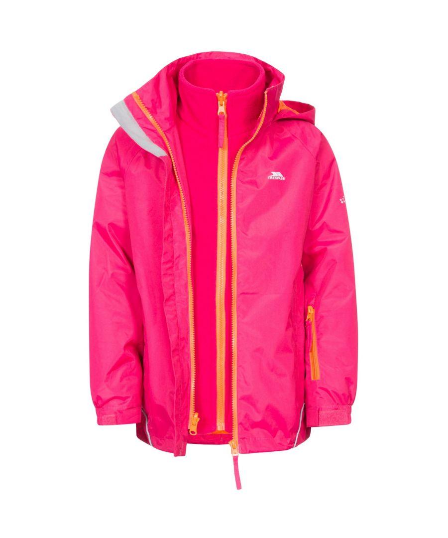 Image for Trespass Girls Rockcliff Waterproof 3-In-1 Jacket