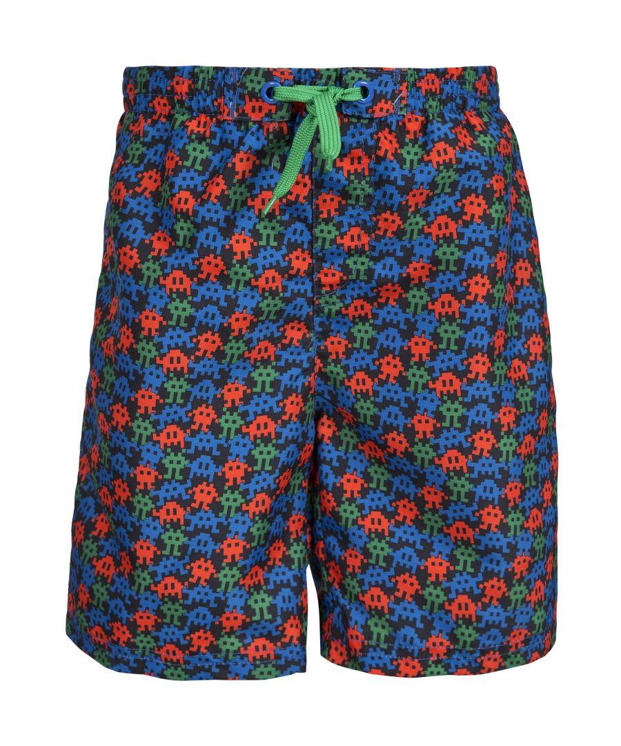 Image for Trespass Childrens Boys Gamer Swimming Shorts