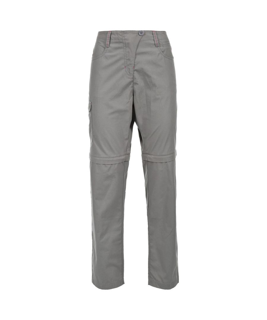 Image for Trespass Womens/Ladies Rambler Convertible Hiking Trousers