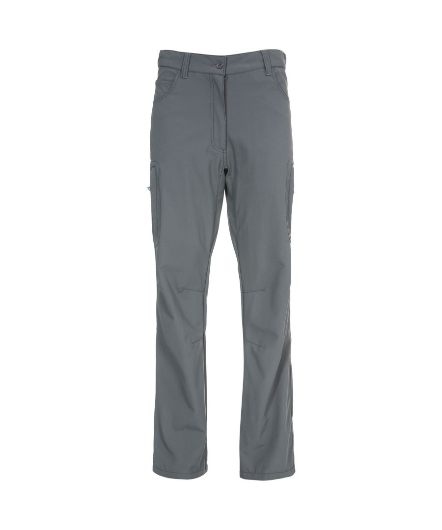 Image for Trespass Womens/Ladies Gloom Walking Trousers (Carbon)