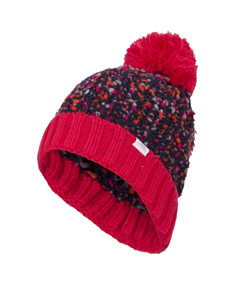 Image for Trespass Womens/Ladies Eloise Knitted Pom Pom Beanie