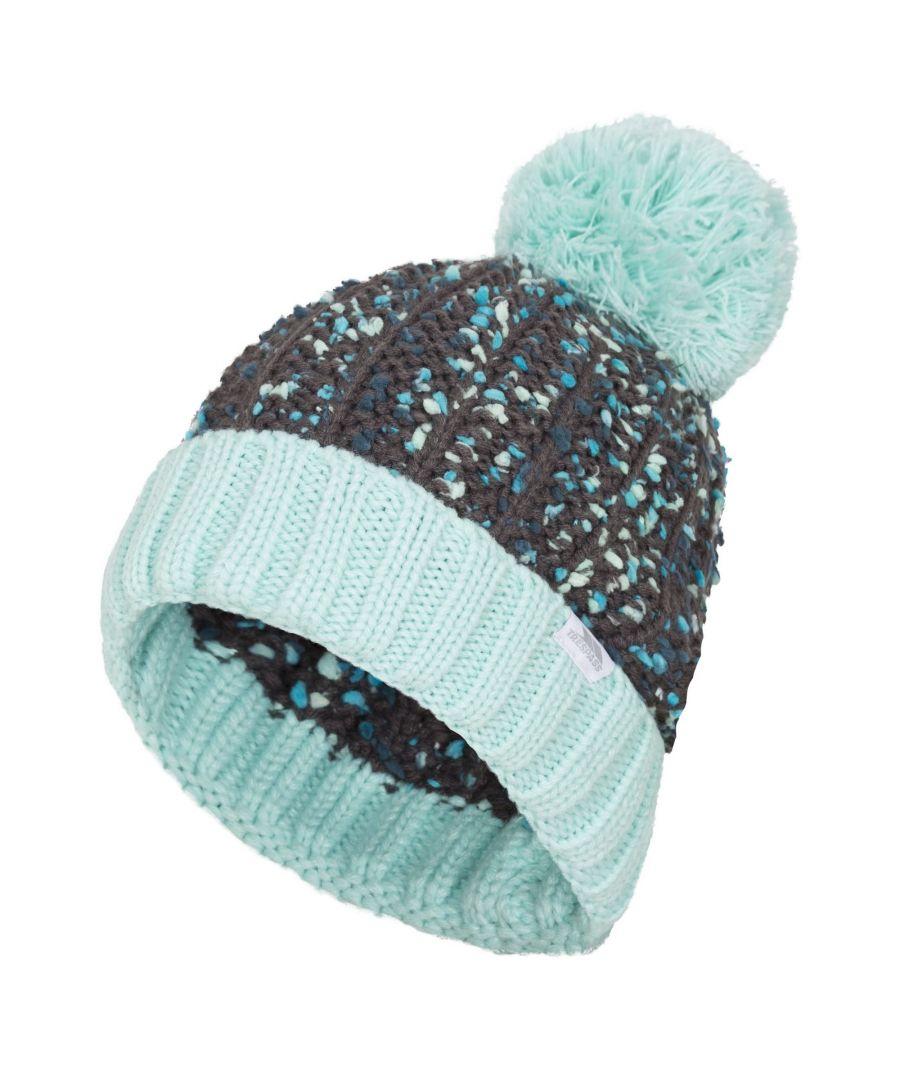 Image for Trespass Womens/Ladies Eloise Knitted Pom Pom Beanie