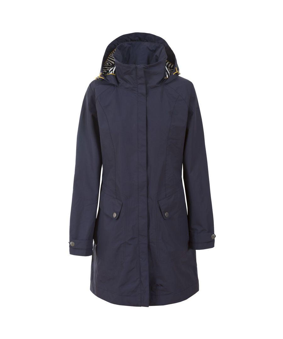 Image for Trespass Womens/Ladies Rainy Day Waterproof Jacket