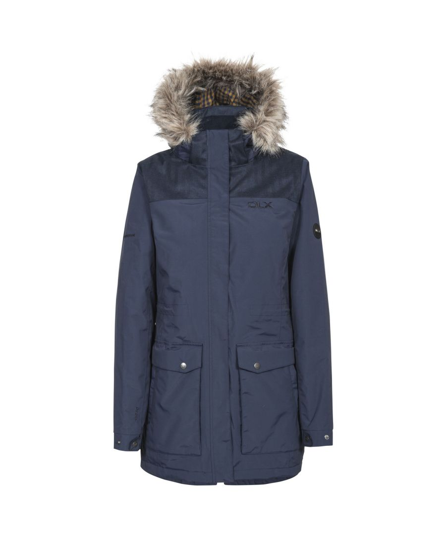 Image for Trespass Womens/Ladies Garner Waterproof DLX Parka Jacket