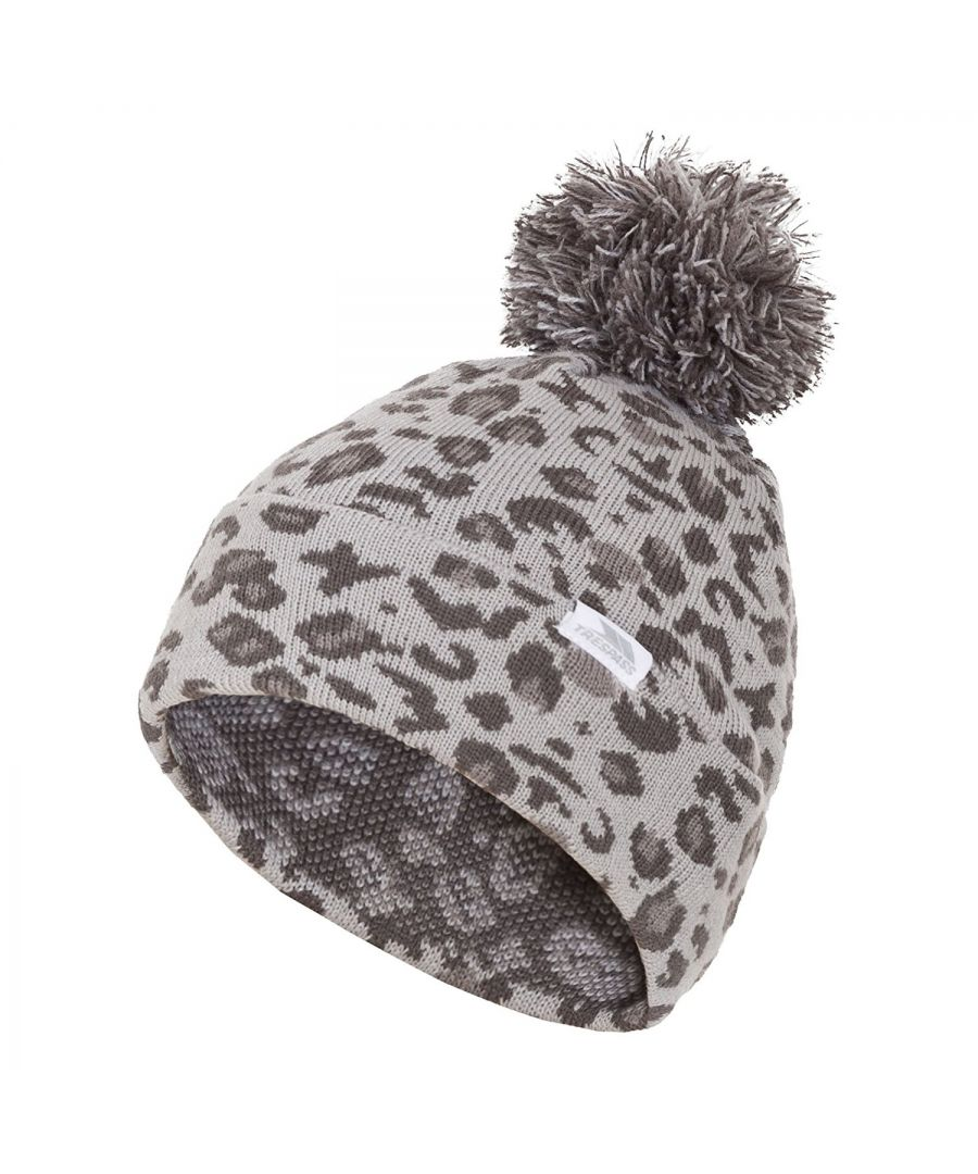Image for Trespass Childrens Girls Sarafina Pom Pom Beanie