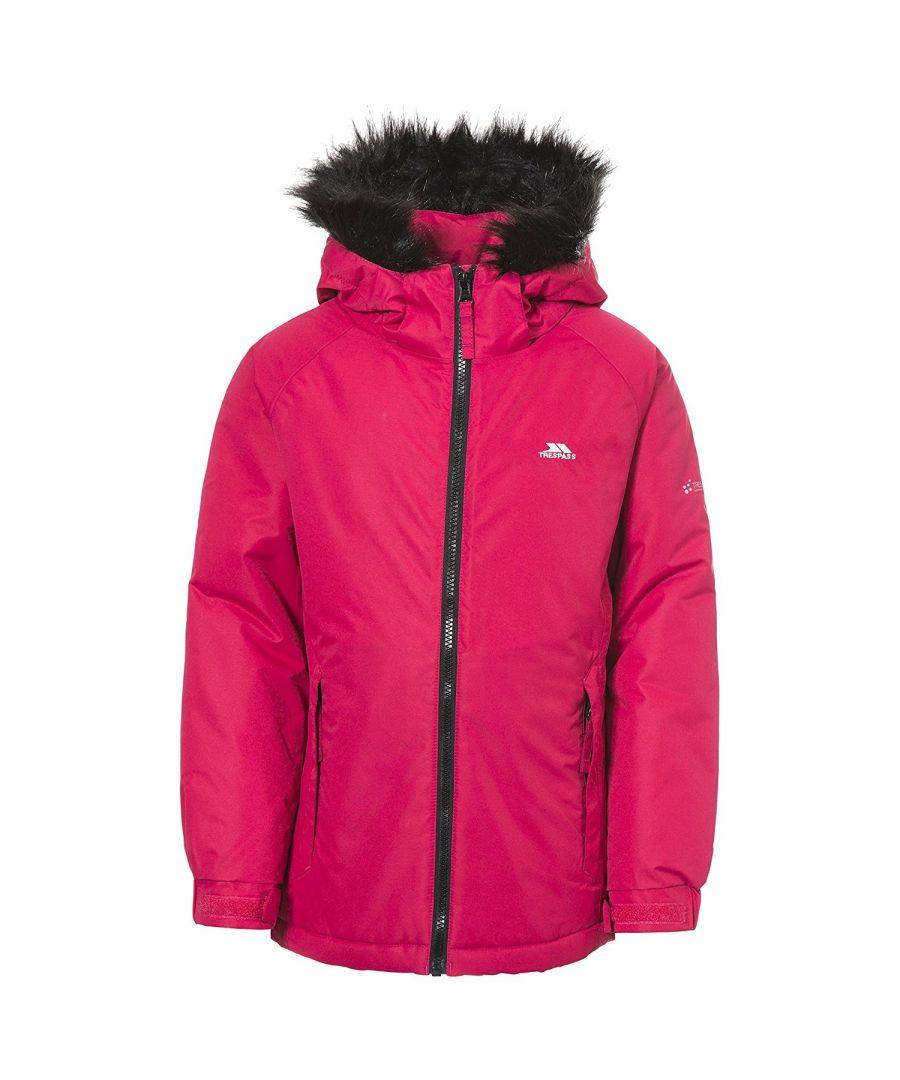 Image for Trespass Childrens Girls Staffie Waterproof Jacket