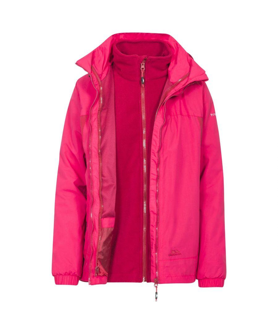 Image for Trespass Womens/Ladies Rewarding 3 In 1 Jacket