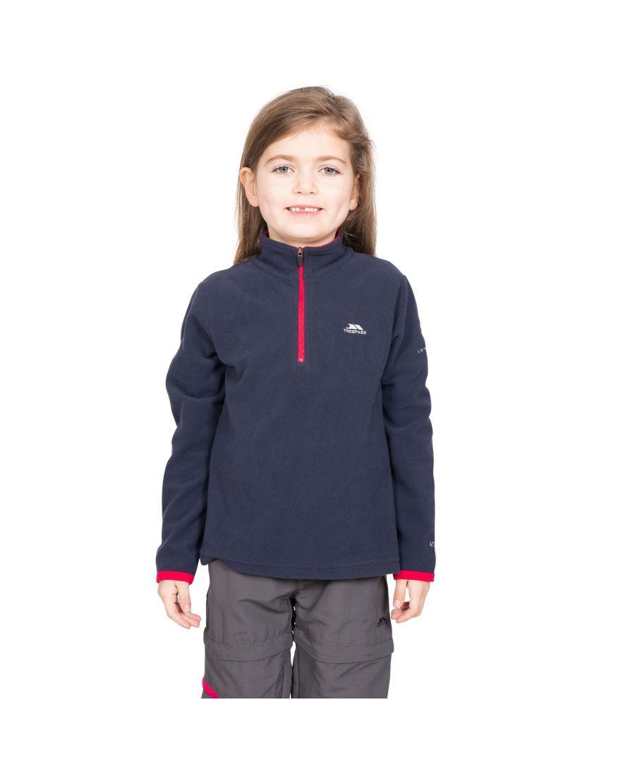 Image for Trespass Childrens/Girls Sybil Micro Fleece (RASPBERRY)
