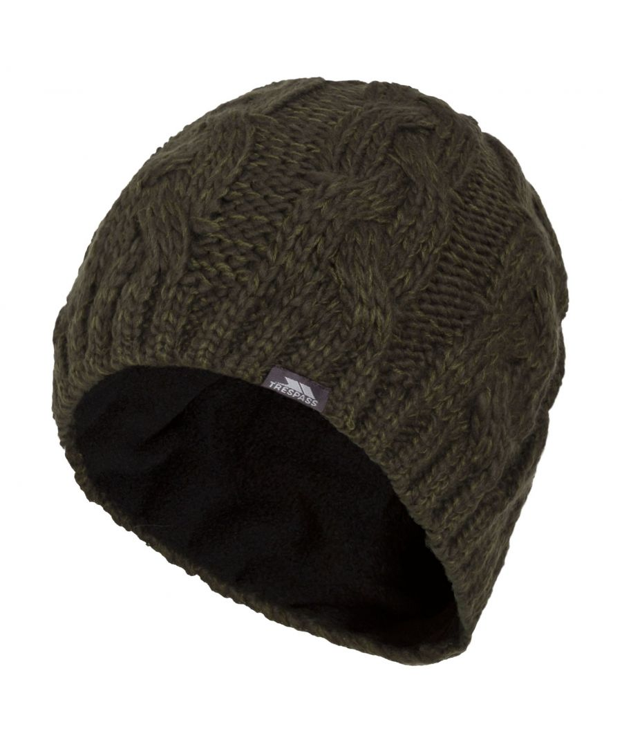 Image for Trespass Mens Tomlins Knitted Beanie Hat
