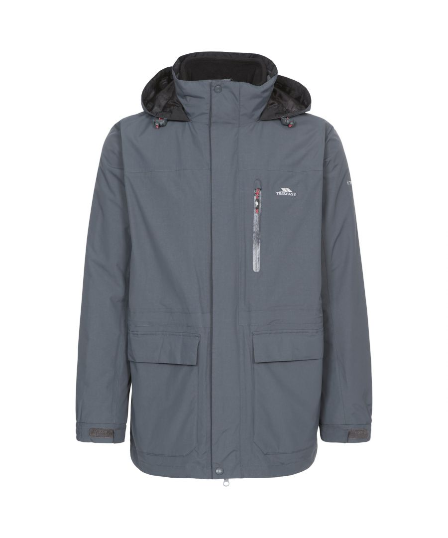 Image for Trespass Mens Edgewater II 3 In 1 Waterproof Jacket