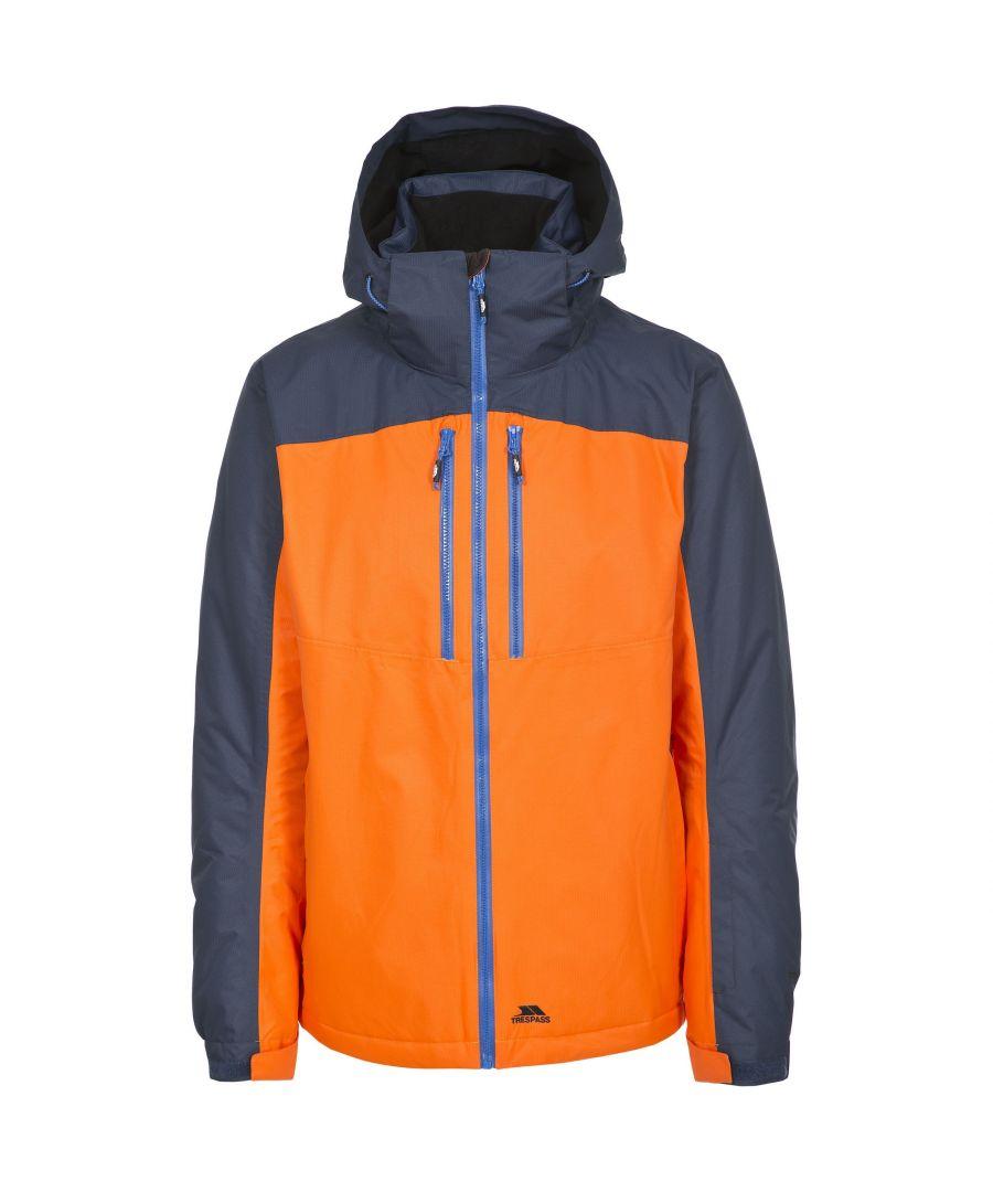 Image for Trespass Mens Crashed Protect Light Waterproof Ski Jacket