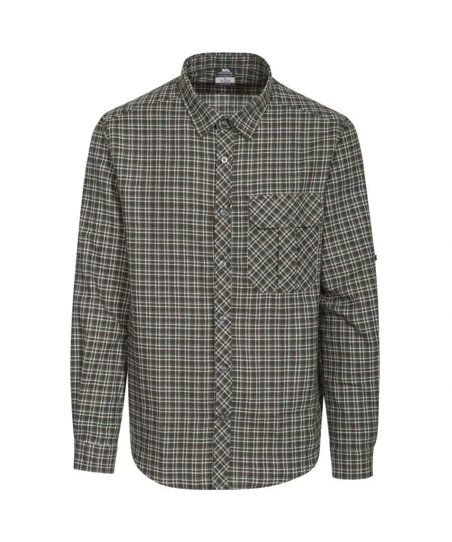 Image for Trespass Mens Snyper Check Shirt
