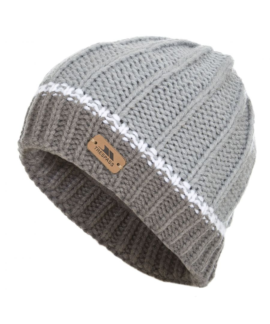 Image for Trespass Childrens/Kids Mufasa Knitted Beanie Hat