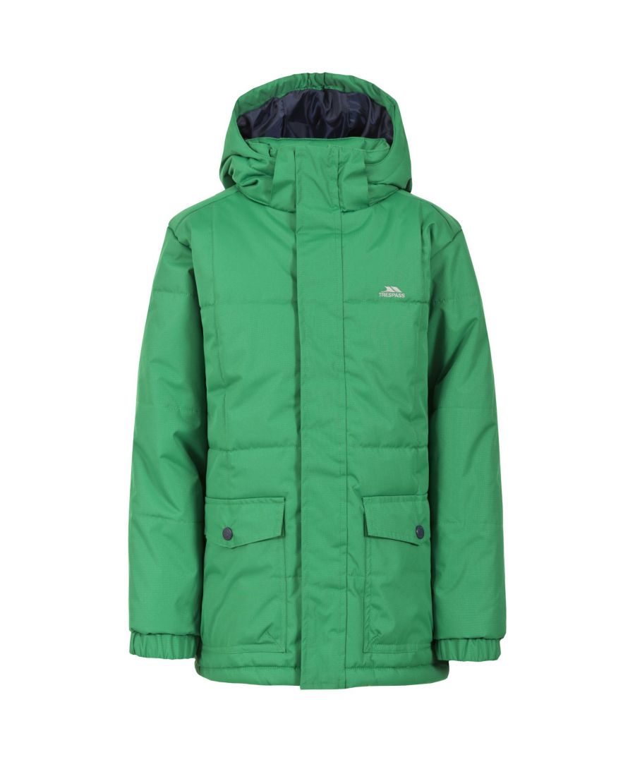 Image for Trespass Childrens/Boys Longton Waterproof Jacket (Clover)