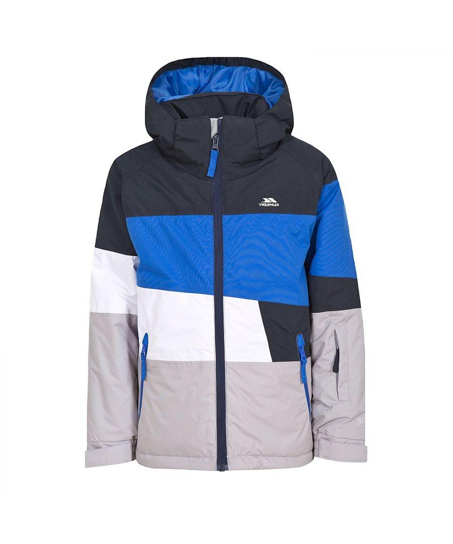 Image for Trespass Childrens/Boys Sedley Ski Jacket (Blue)