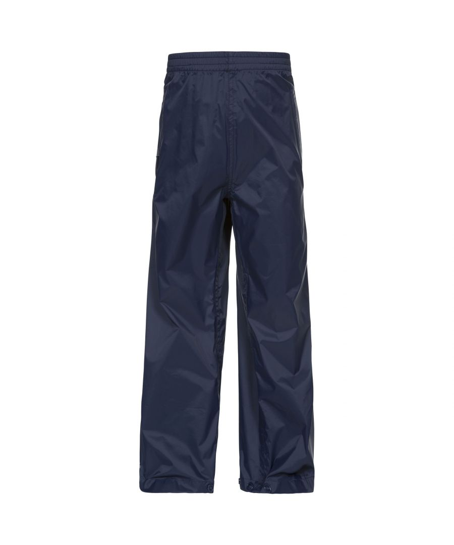 Image for Trespass Childrens/Kids Qikpac Waterproof Packaway Trousers