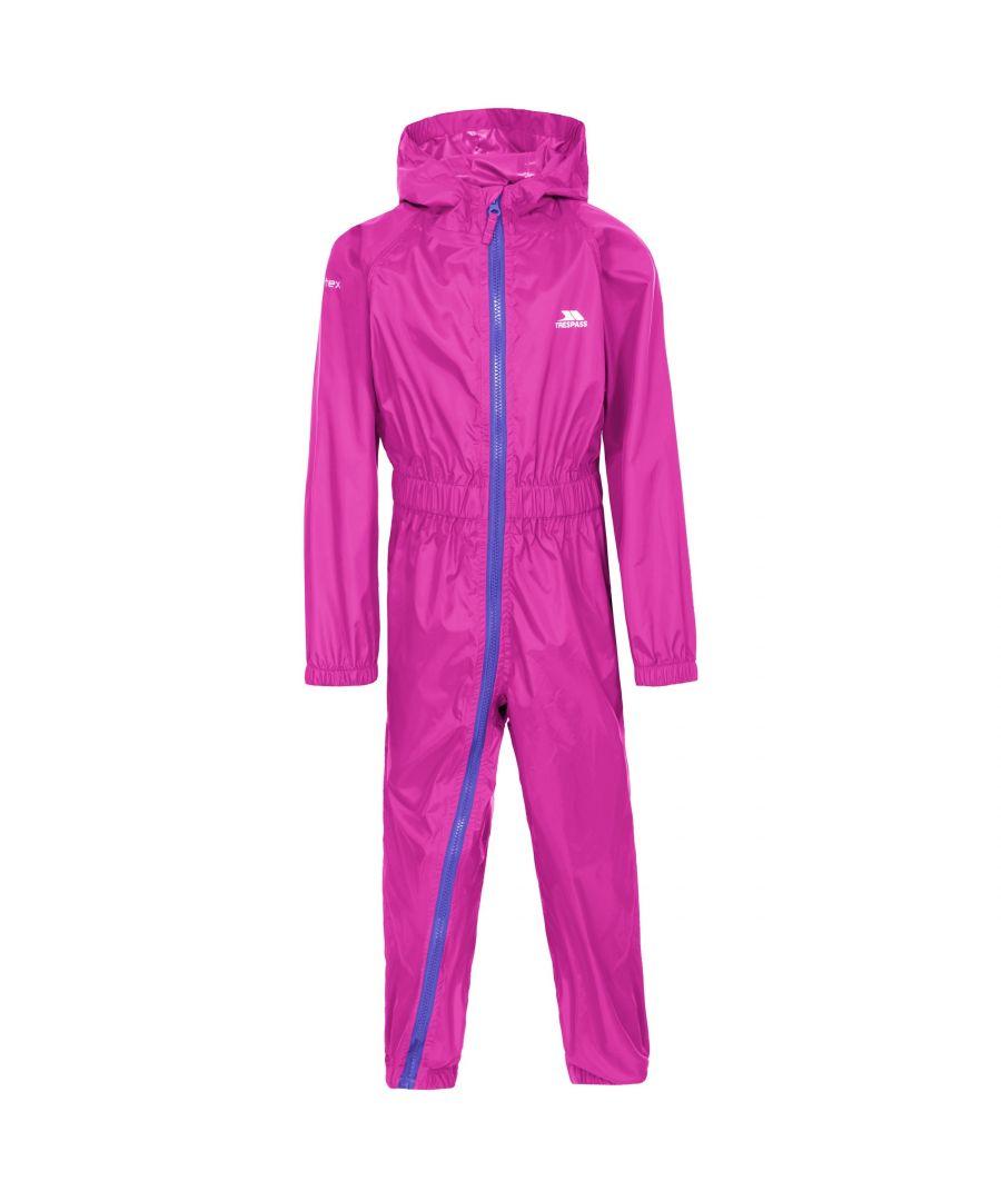 Image for Trespass Girls Button II Rain Suit