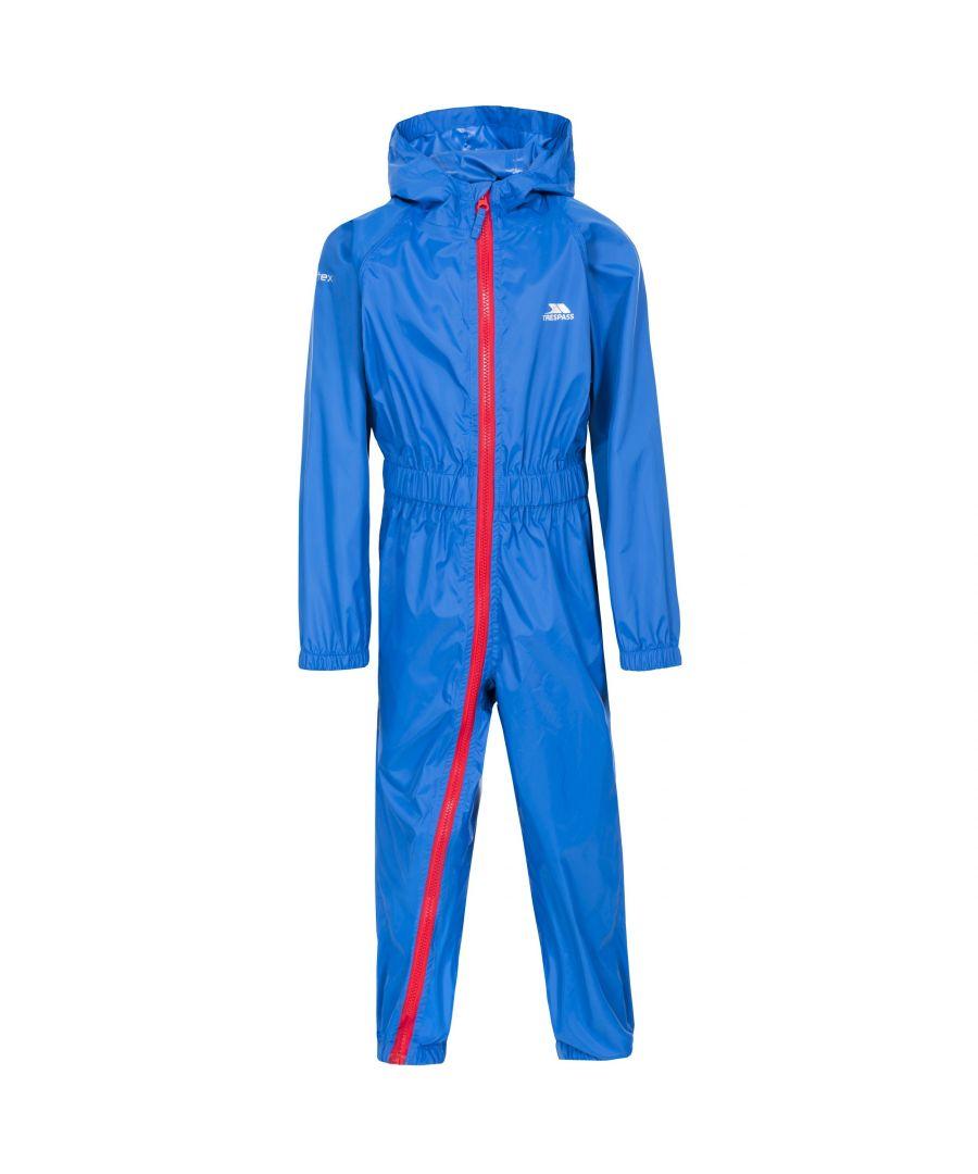 Image for Trespass Childrens/Kids Button II Rain Suit