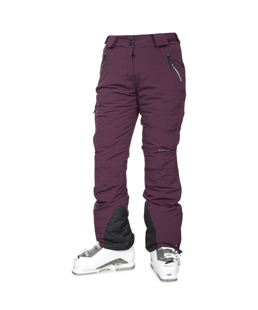 Image for Trespass Womens/Ladies Galaya Waterproof Ski Trousers (Potent Purple)