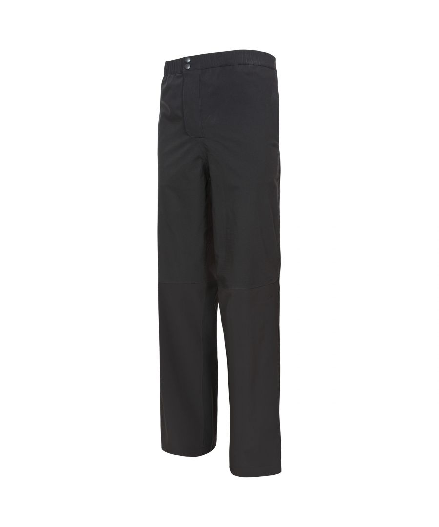 Image for Trespass Mens Crestone DLX Waterproof Packaway Trousers