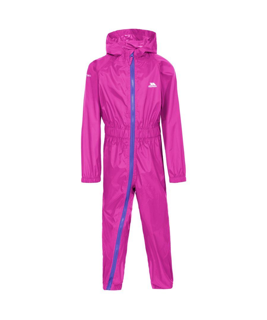 Image for Trespass Babies Button II Waterproof Rain Suit