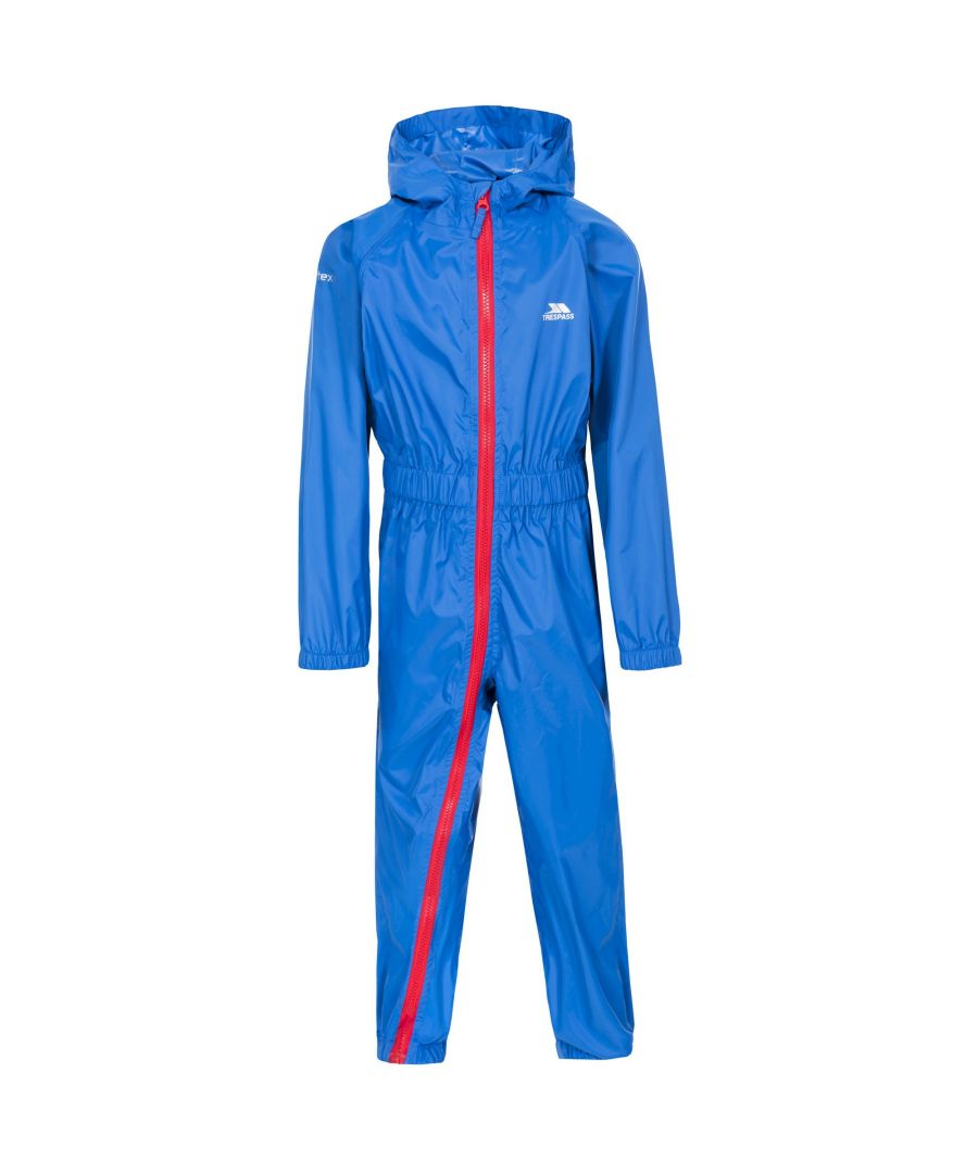 Image for Trespass Babies Button II Waterproof Rain Suit