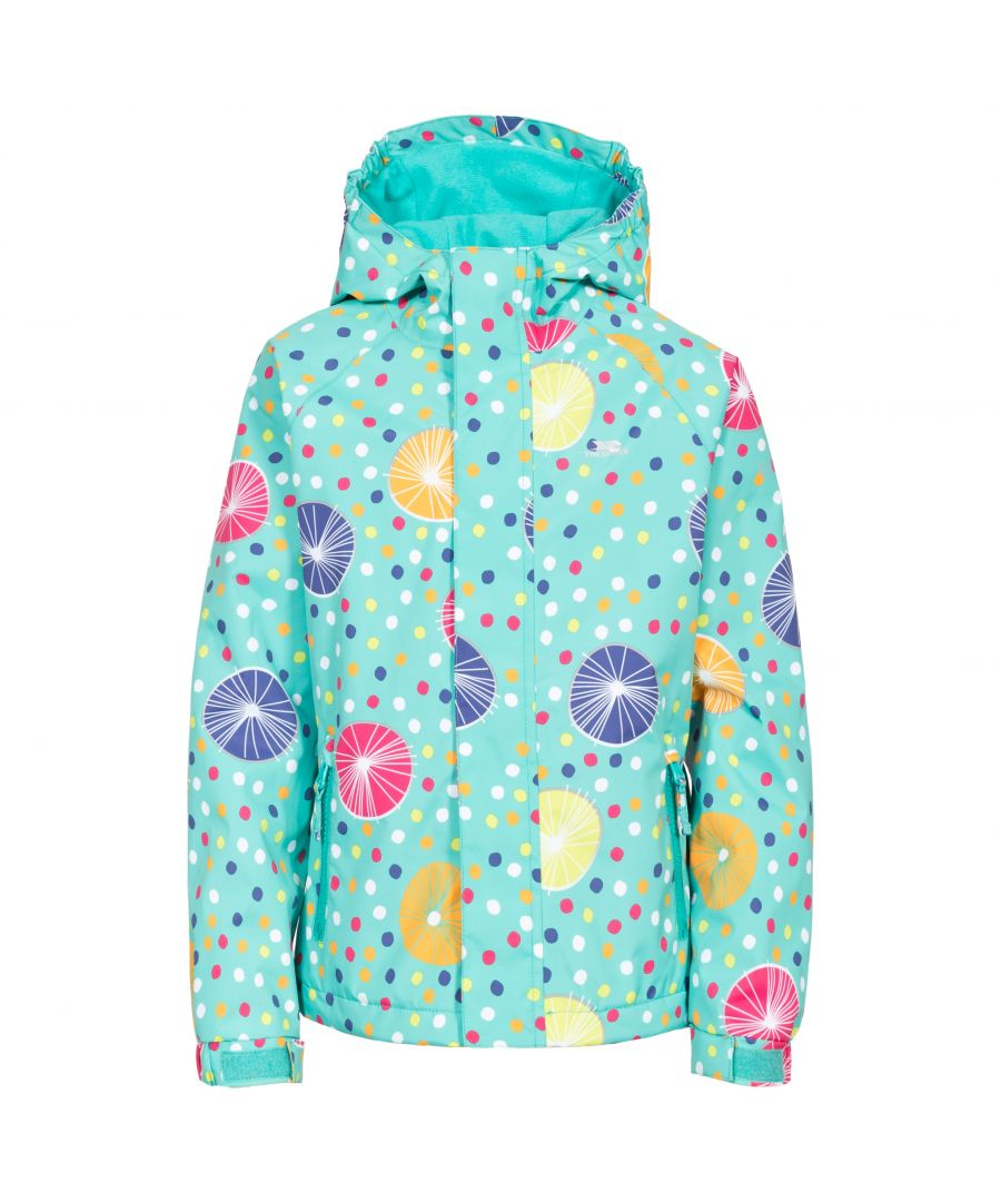 Image for Trespass Childrens Girls Hopeful Waterproof Rain Jacket