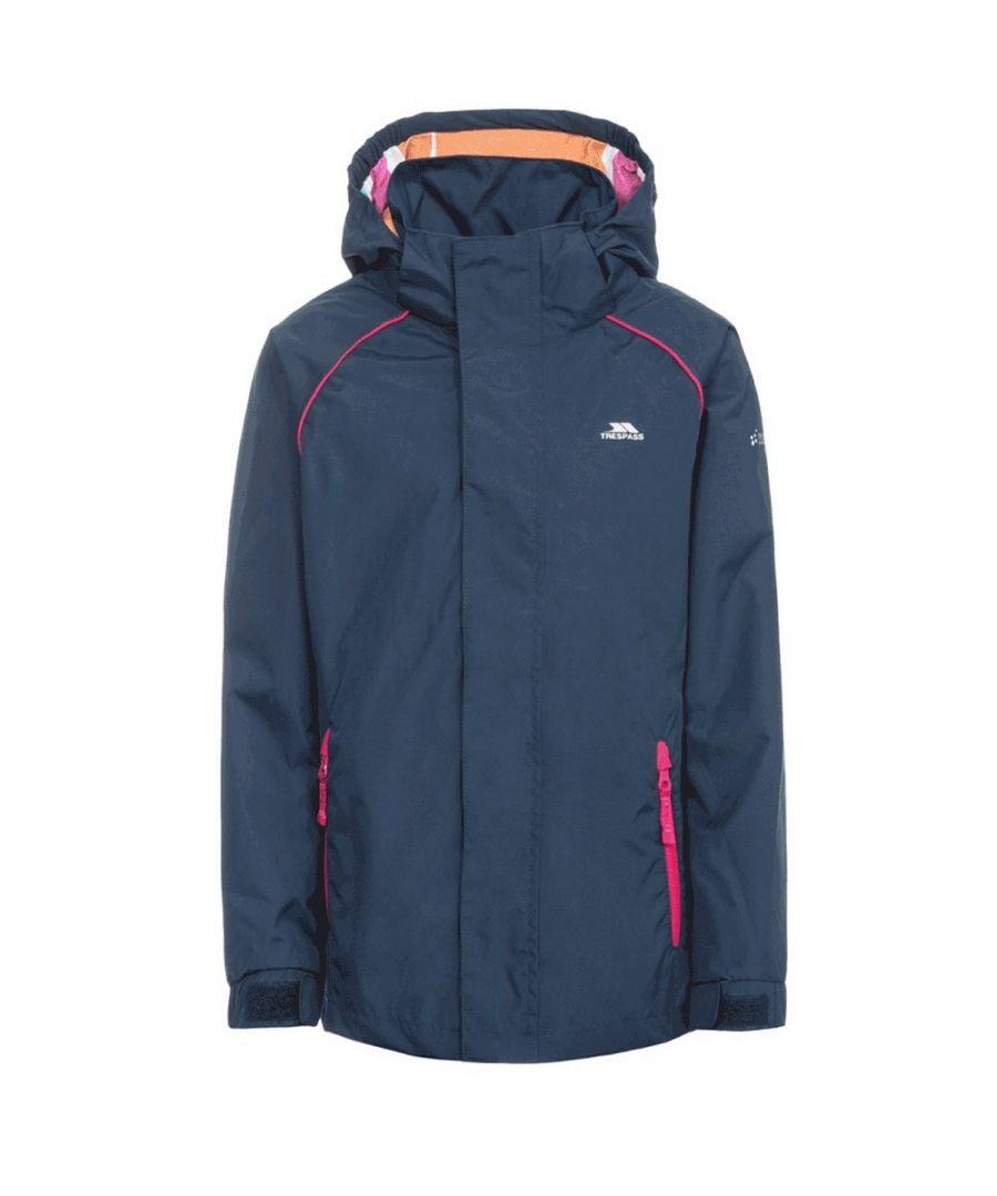 Image for Trespass Childrens Girls Lunaria Waterproof Jacket