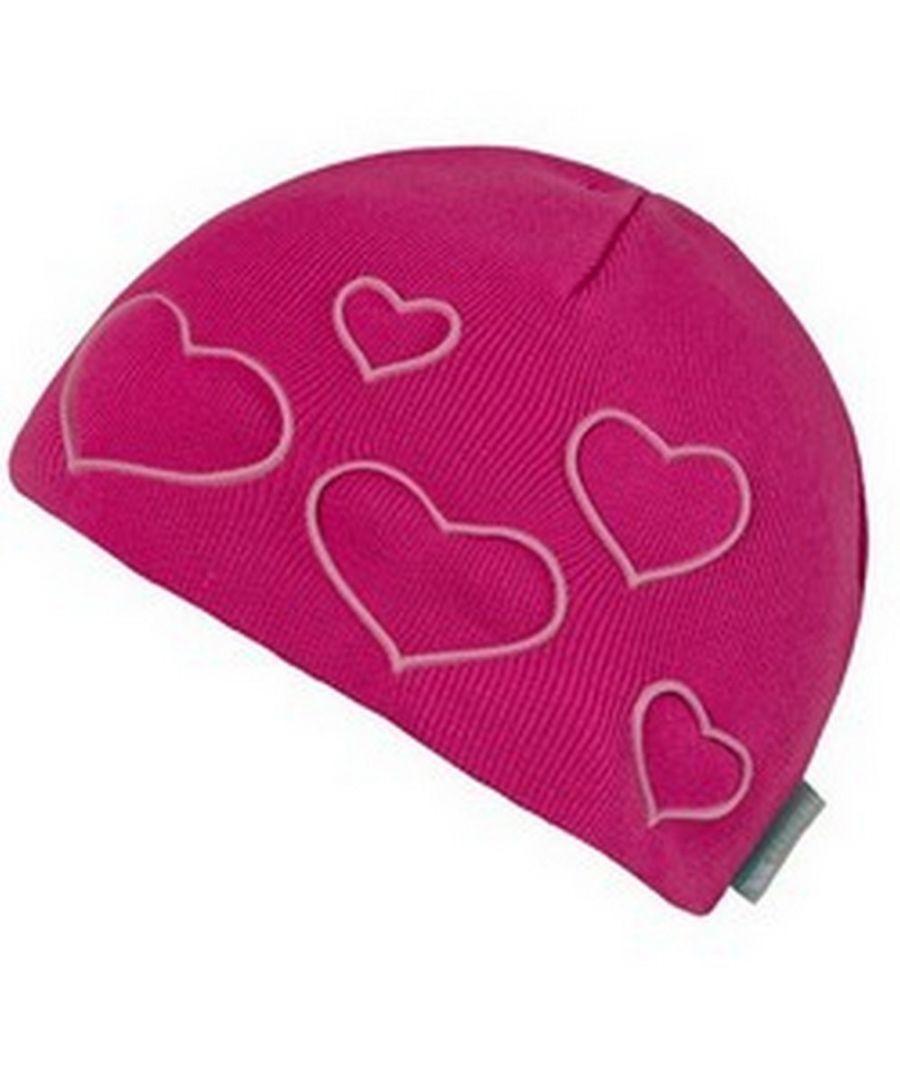 Image for Trespass Childrens Girls Luma Heart Beanie Hat