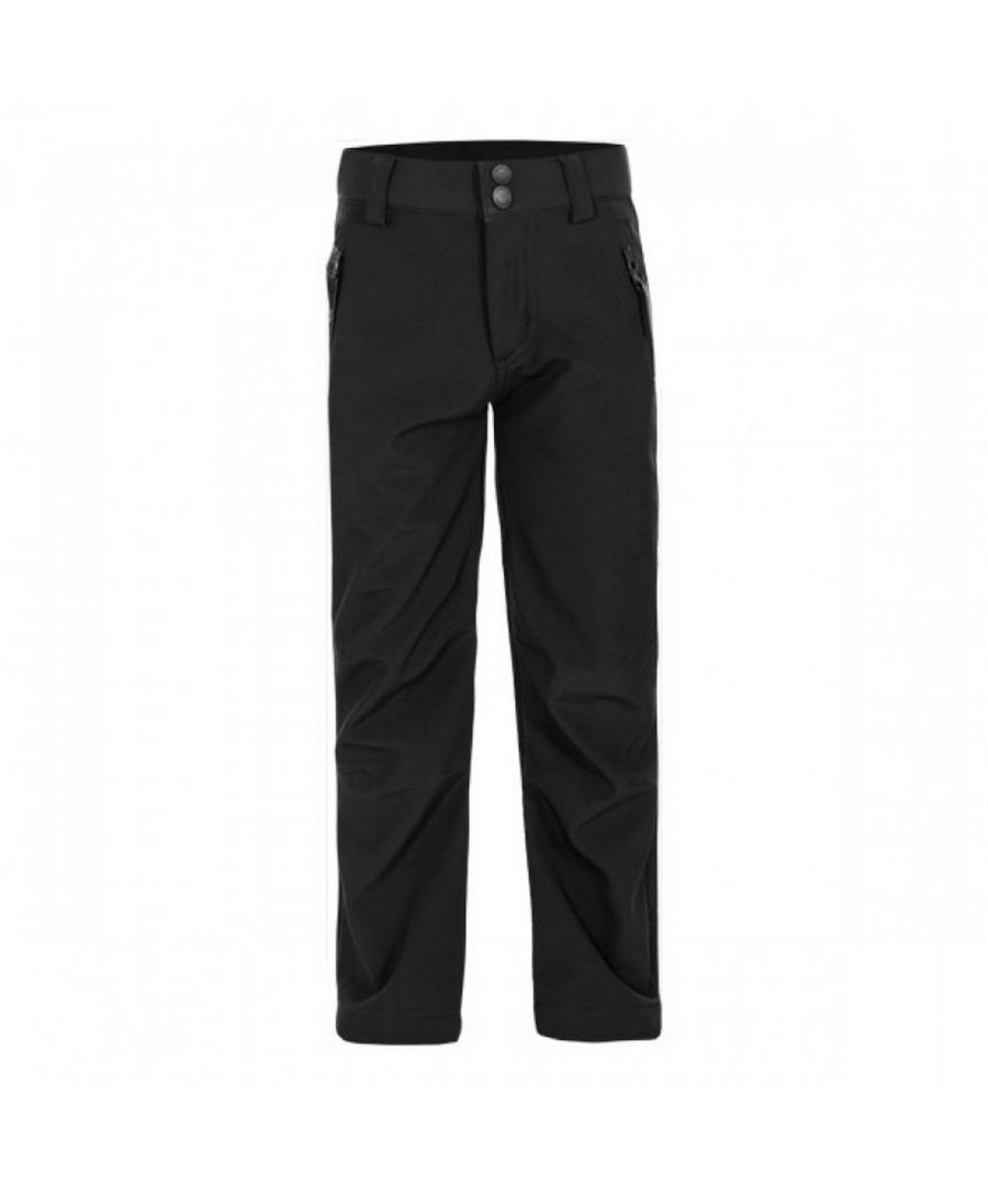 Image for Trespass Childrens/Kids Galloway Softshell Trousers