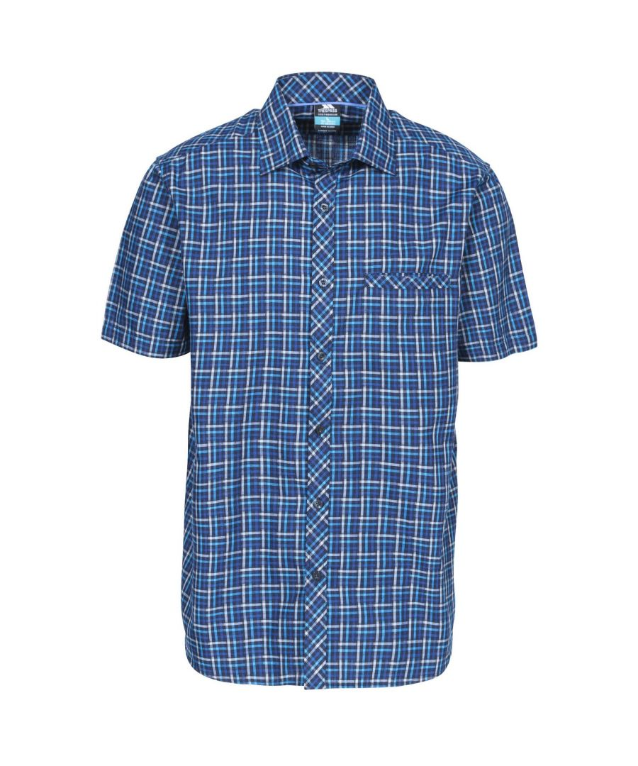 Image for Trespass Mens Baffin Short Sleeve Casual Shirt