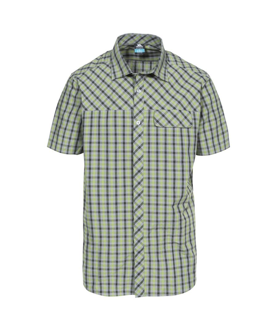 Image for Trespass Mens Juba Short Sleeve Casual Shirt