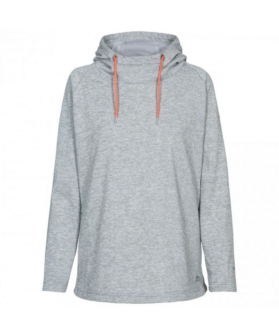 Image for Trespass Womens/Ladies Stumble Hooded Fleece