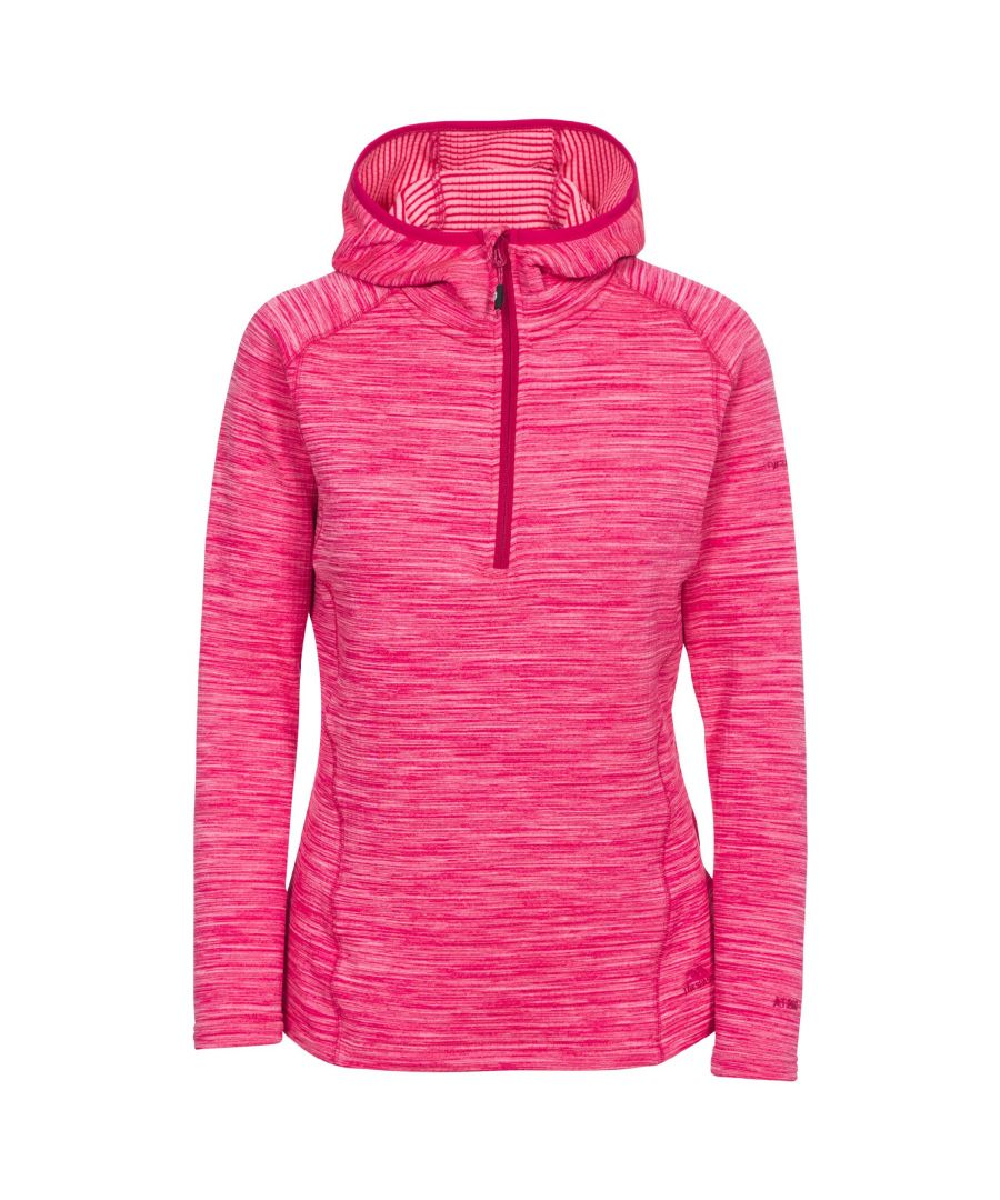 Image for Trespass Womens/Ladies Romina Hooded Fleece Pullover