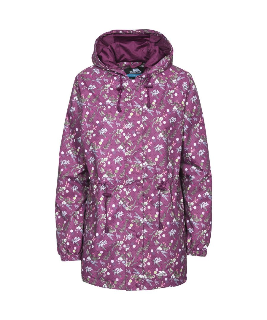 Image for Trespass Womens/Ladies Pastime Waterproof Shell Jacket