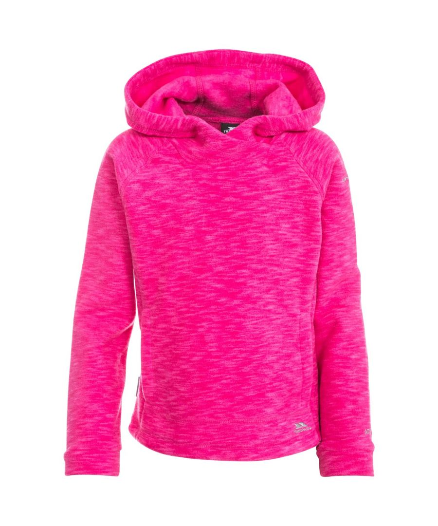 Image for Trespass Childrens Girls Moonflow Hooded Fleece
