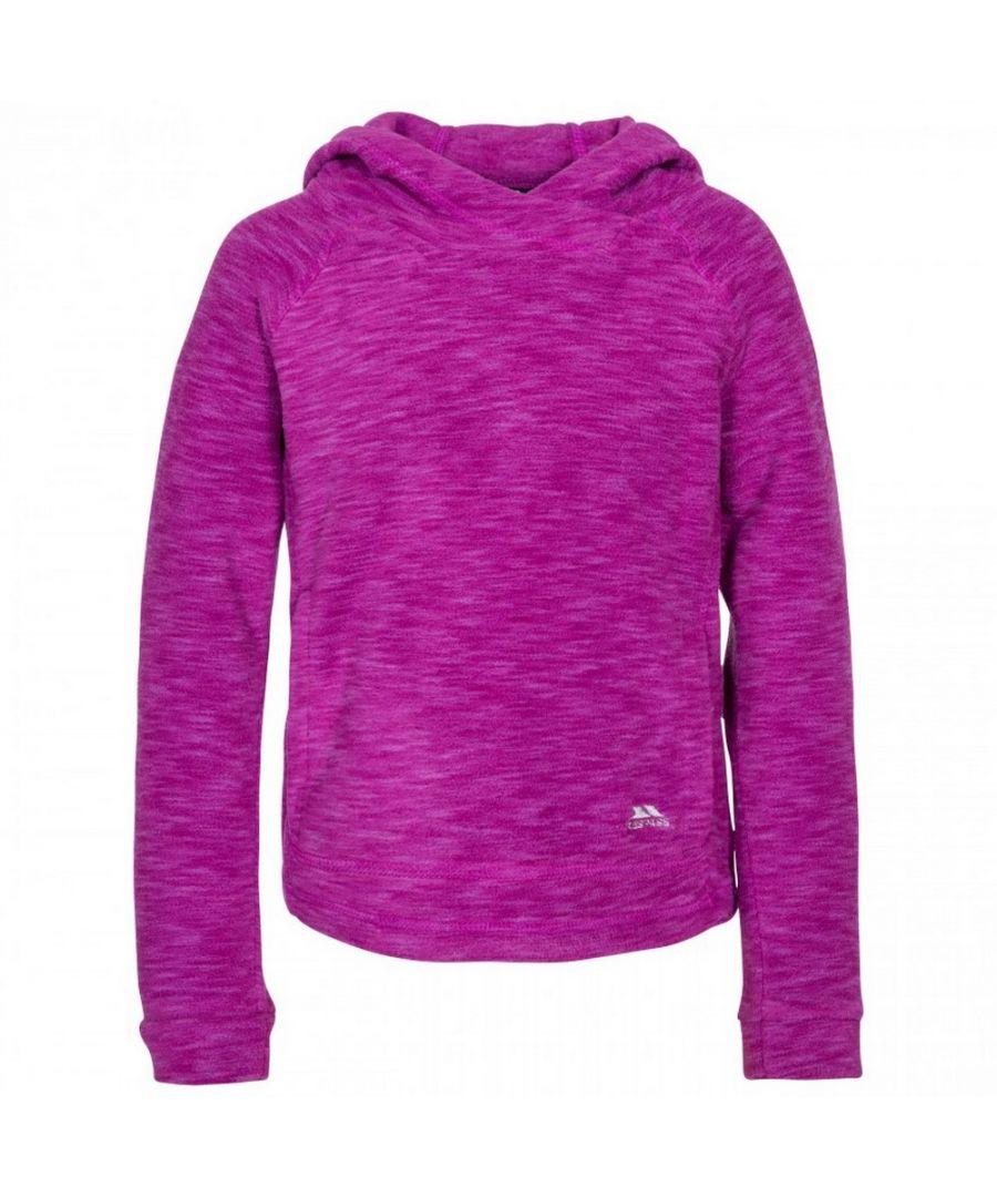 Image for Trespass Childrens Girls Moonflow Hooded Fleece