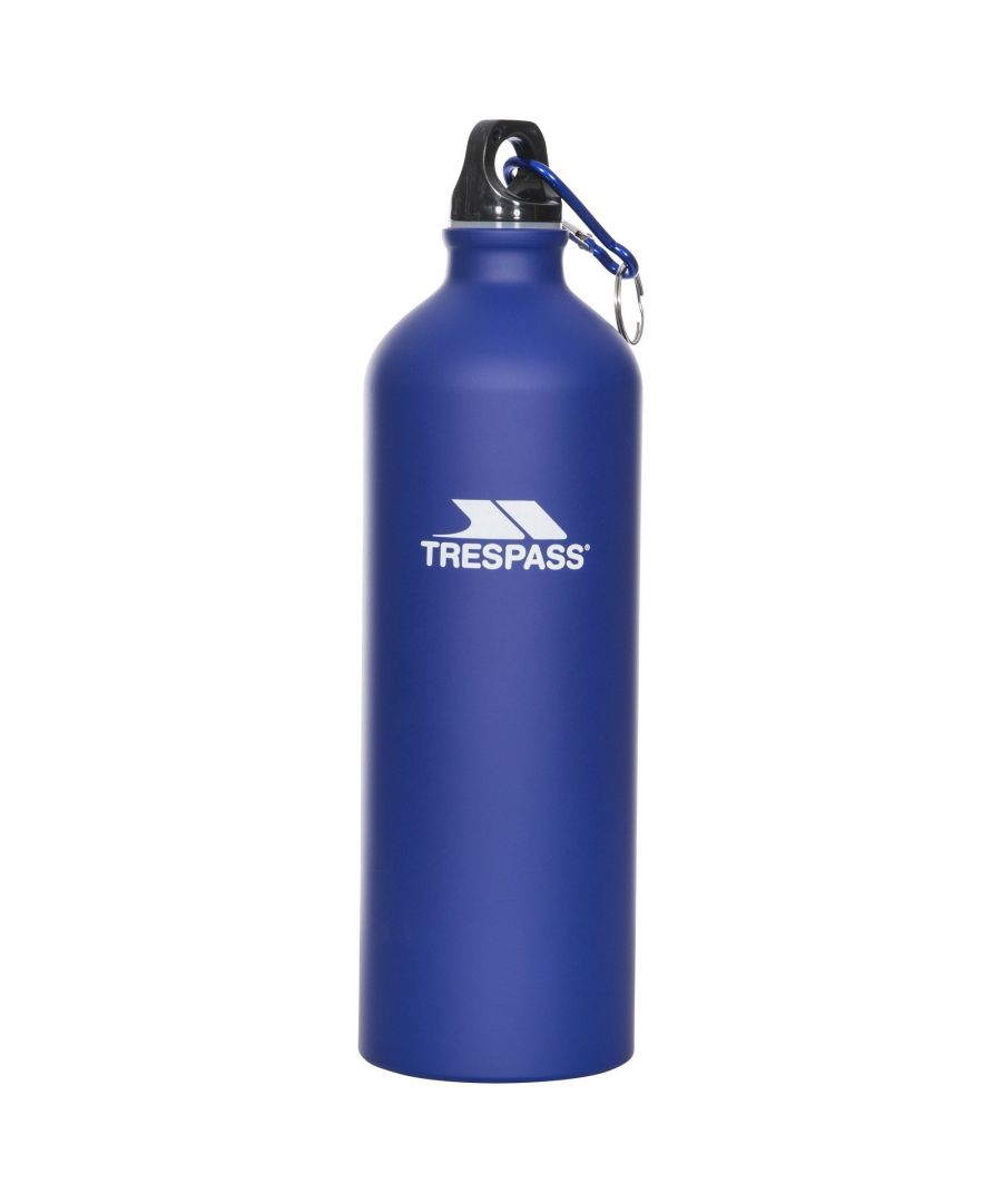 Image for Trespass Adults Slurp Water Bottle With Carabiner (1 Litre)