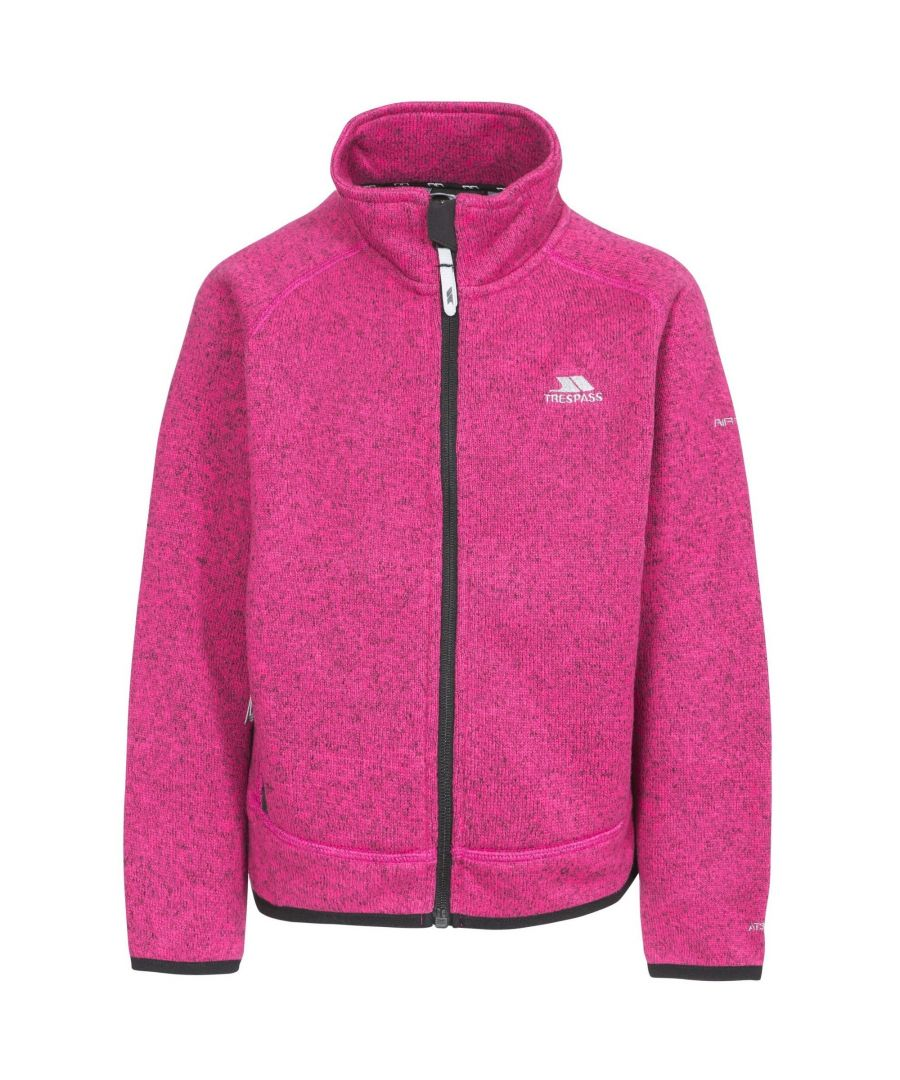 Image for Trespass Childrens Girls Rilla Full Zip Fleece Jacket
