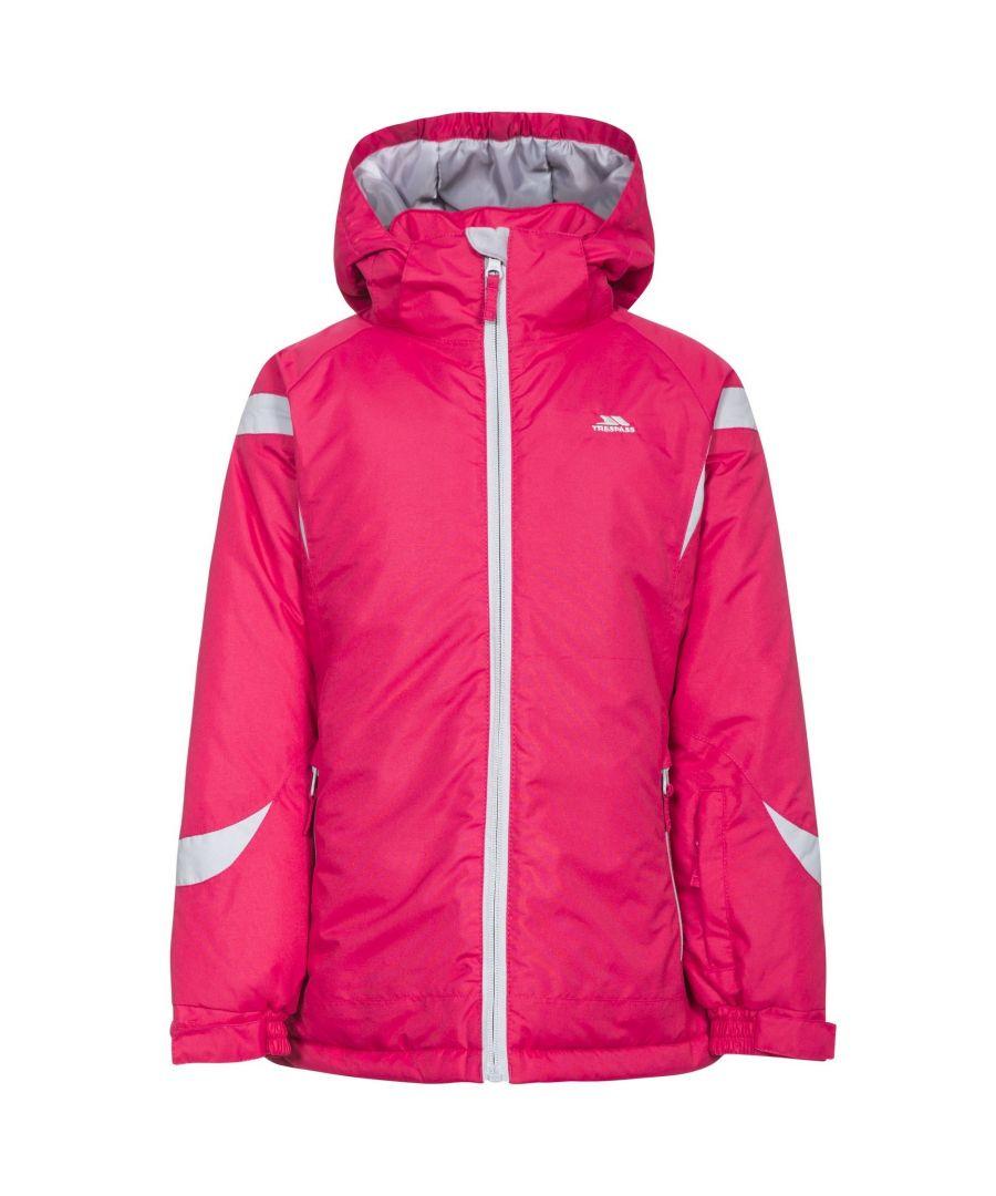 Image for Trespass Childrens Girls Avast Waterproof Ski Jacket (Raspberry)