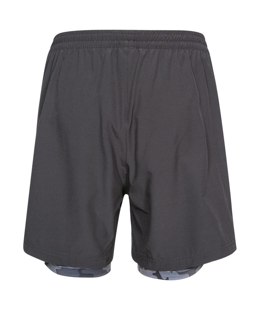 Image for Trespass Mens Patterson Active Shorts