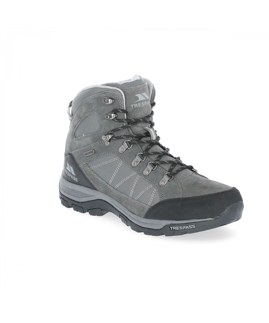 Image for Trespass Mens Chavez Mid Cut Hiking Boots