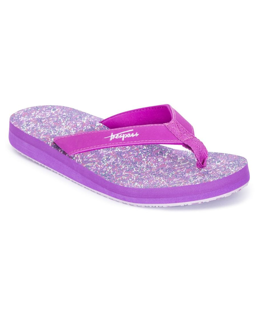 Image for Trespass Womens/Ladies Caladesi Flip Flops (Pink Lady)