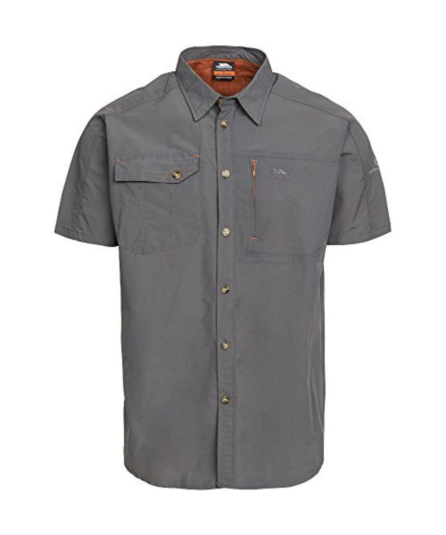 Image for Trespass Mens Lowrel Short Sleeve Travel Shirt