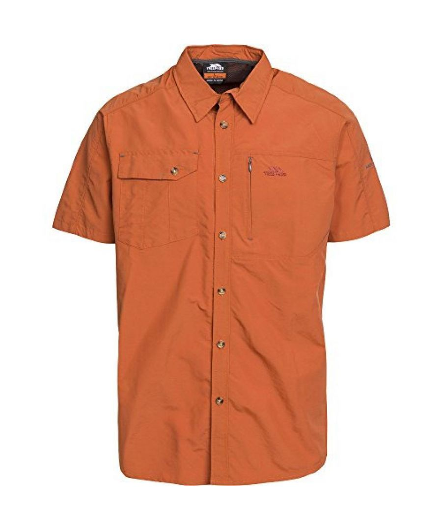 Image for Trespass Mens Lowrel Short Sleeve Travel Shirt