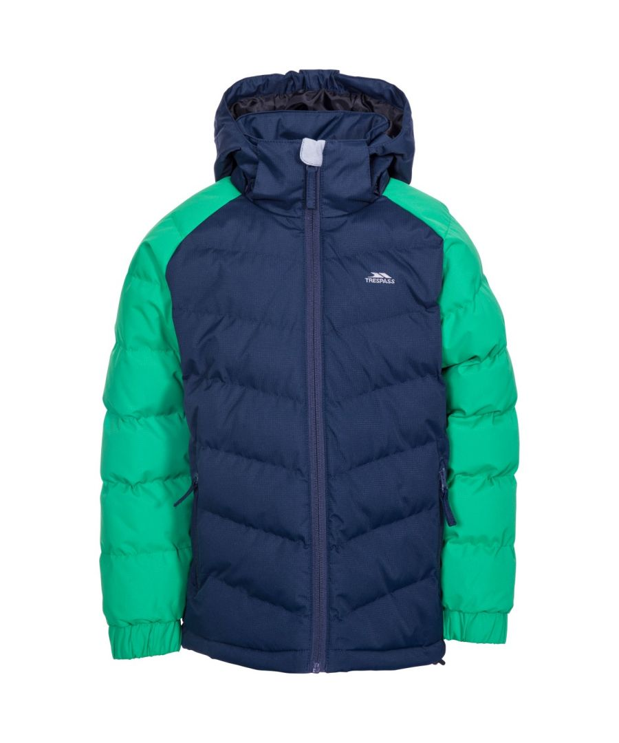 Image for Trespass Childrens Boys Sidespin Waterproof Padded Jacket
