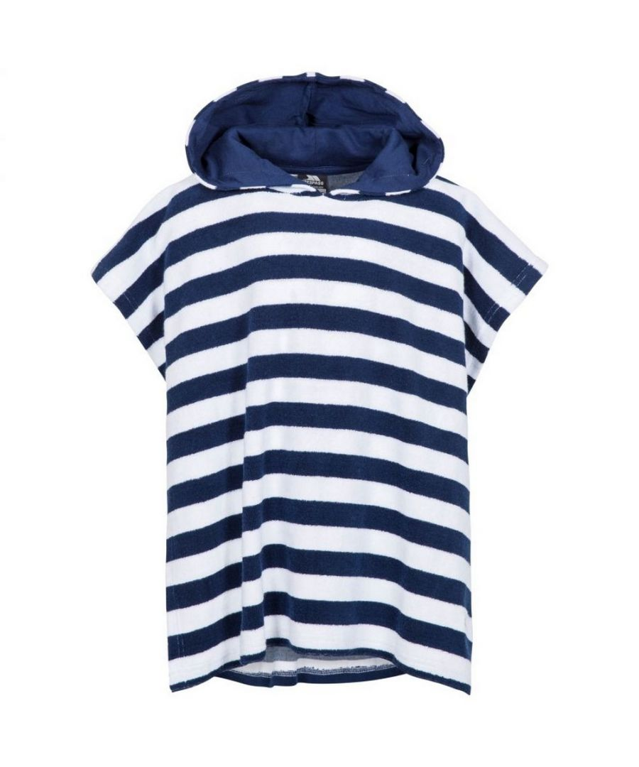 Image for Trespass Childrens/Kids Oarfish Hooded Towelling Robe