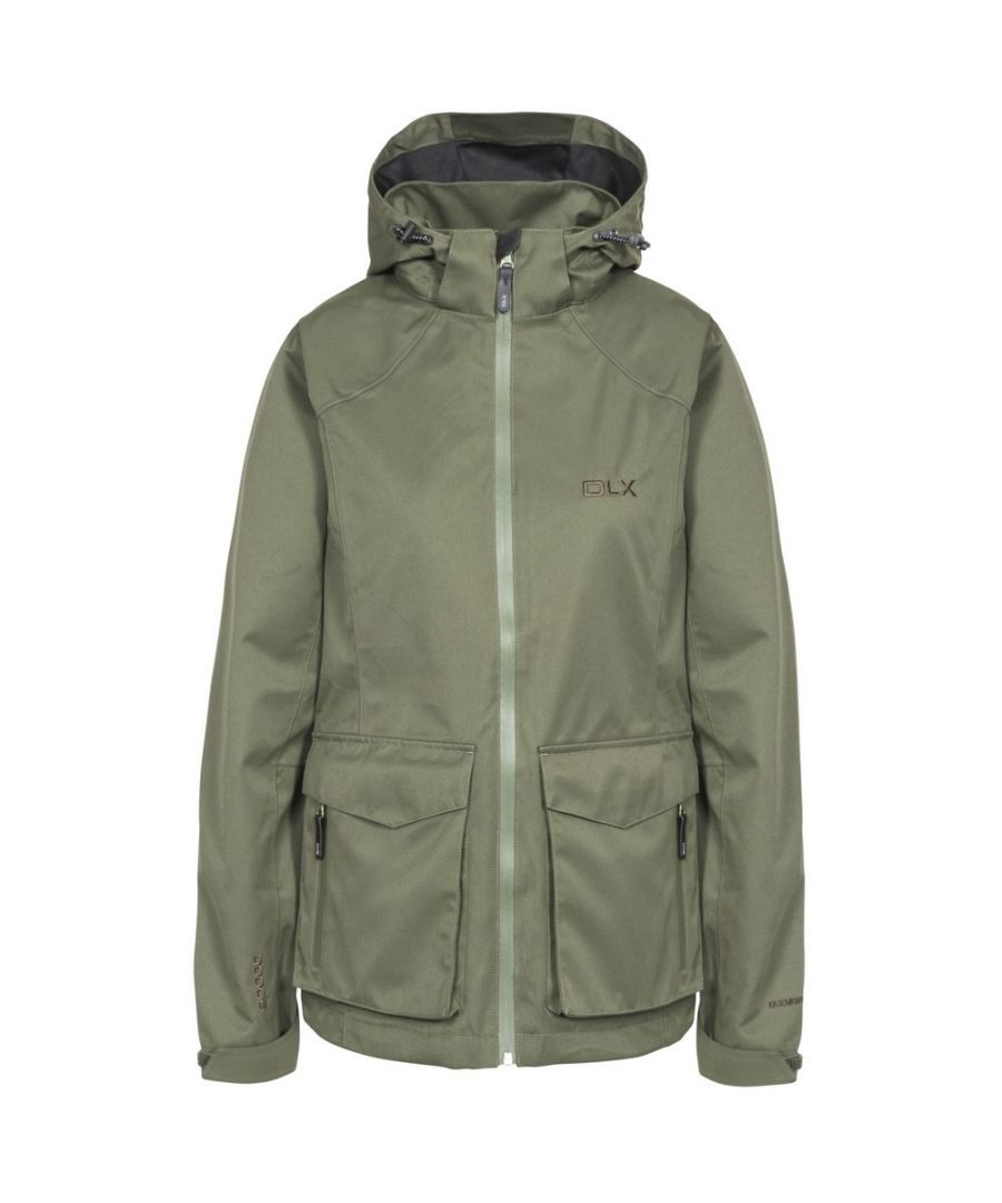 Image for Trespass Womens/Ladies Emeson DLX Hooded Waterproof Jacket