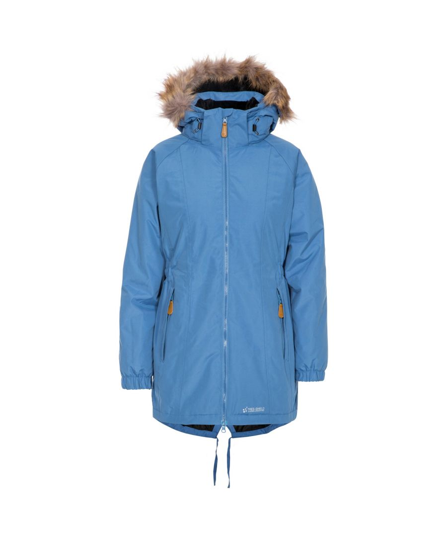 Image for Trespass Womens/Ladies Celebrity Insulated Longer Length Parka Jacket